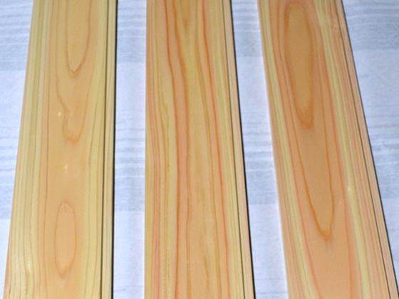 岡山の材 羽目板