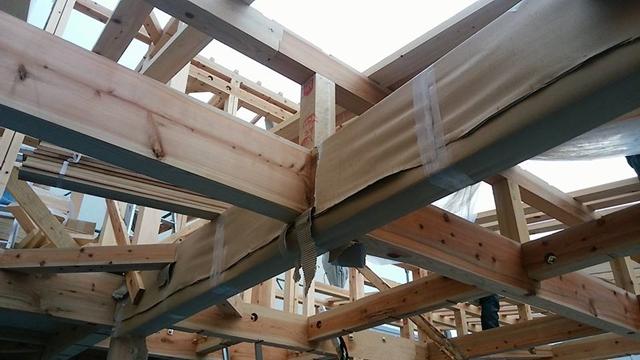 杉の構造材2
