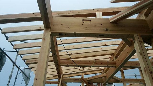 杉の構造材3