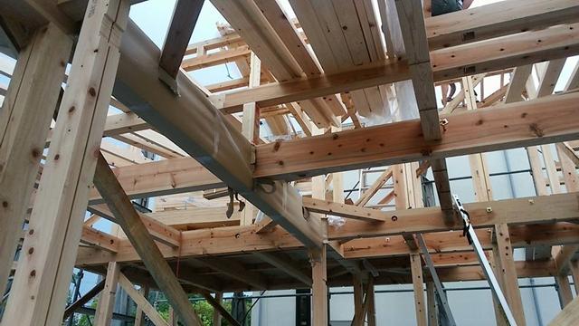 杉の構造材4