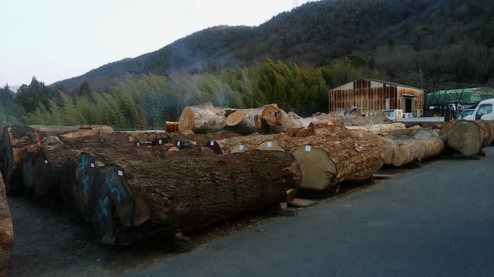 岐阜県の平野木材へ3