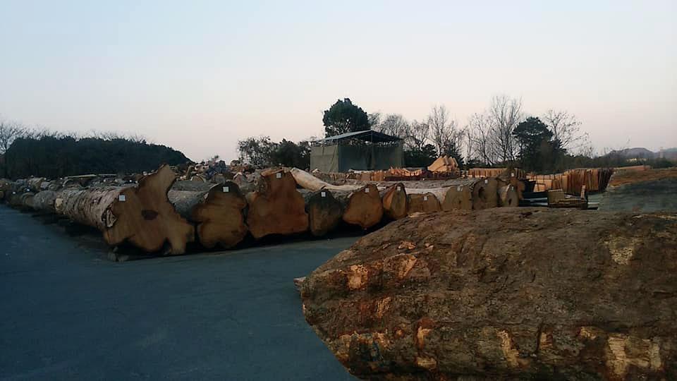 岐阜県の平野木材へ4