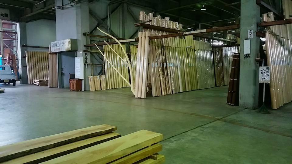 奈良県銘木の製品市3